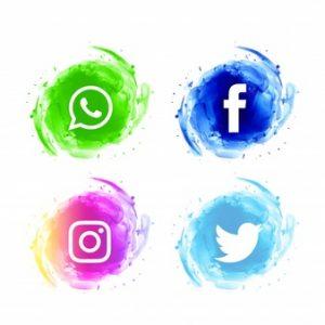 conjunto-iconos-acuarela-redes-sociales-abstractos_1055-4466